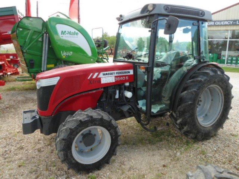 massey ferguson 3640 s tracteur pour viticulture  82200