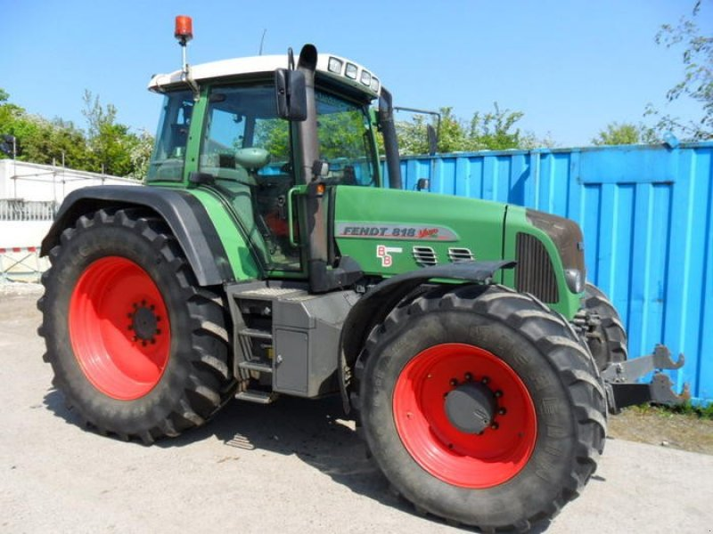 Traktor of the type Fendt 818, Gebrauchtmaschine in S75 3LA (Picture 1)